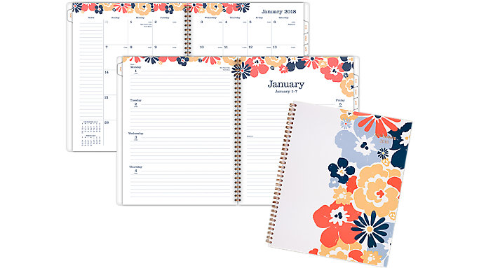 AT-A-GLANCE Isla Weekly-Monthly Planner  (1062-905)