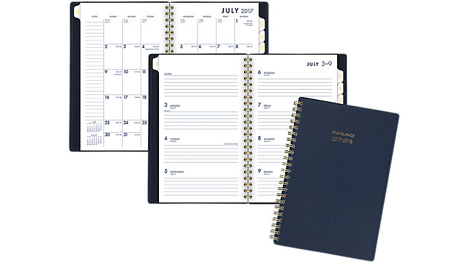 AT-A-GLANCE Color Bar Academic Weekly-Monthly Planner  (1067-200A)