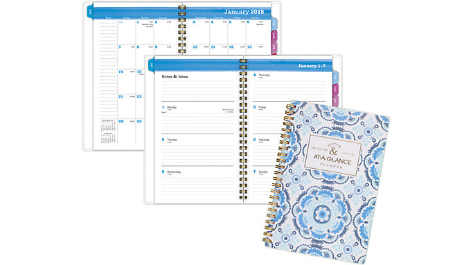 AT-A-GLANCE Badge Weekly-Monthly Planner  (1084-200)