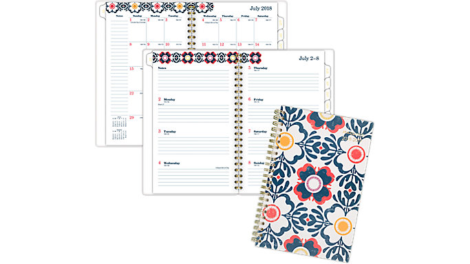AT-A-GLANCE Fiona Academic Weekly-Monthly Planner  (1100-200A)