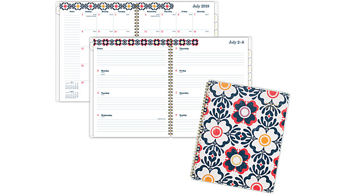 AT-A-GLANCE Fiona Academic Weekly-Monthly Planner  (1100-905A)