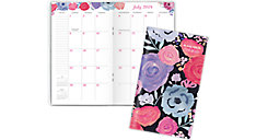 Midnight Rose Academic 2-Year Monthly Pocket Planner (Item # 1101-021A)