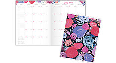 Midnight Rose Academic Monthly Planner (Item # 1101-091A)