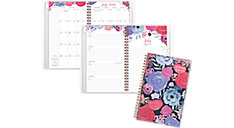 Midnight Rose Customizable Academic Weekly-Monthly Planner (Item # 1101-201A)