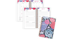 Midnight Rose Academic Weekly-Monthly Pocket Planner (Item # 1101-300A)