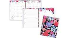 Midnight Rose Customizable Academic Weekly-Monthly Planner (Item # 1101-901A)