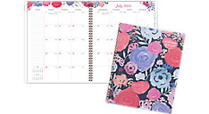 Midnight Rose Academic Monthly Planner (Item # 1101-902A)