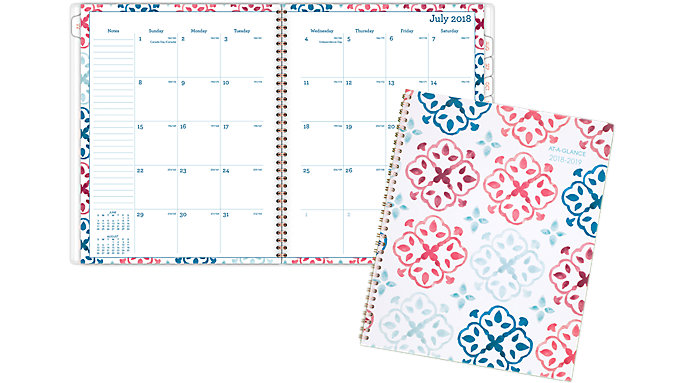 AT-A-GLANCE Lydia Academic Monthly Planner  (1109-900A)