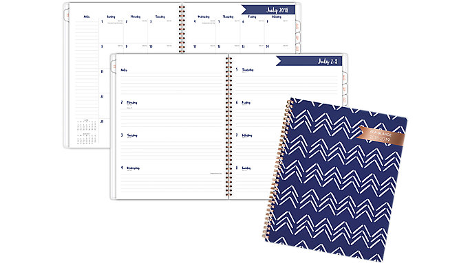 AT-A-GLANCE Carousel Academic Weekly-Monthly Planner  (1112C-905A)