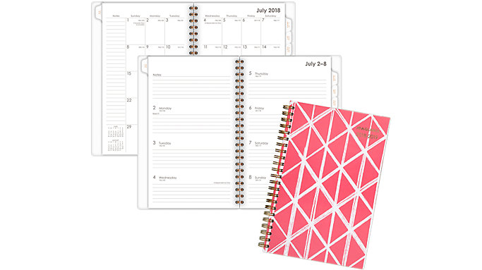 AT-A-GLANCE Sloane Academic Weekly-Monthly Planner  (1114D-200A)
