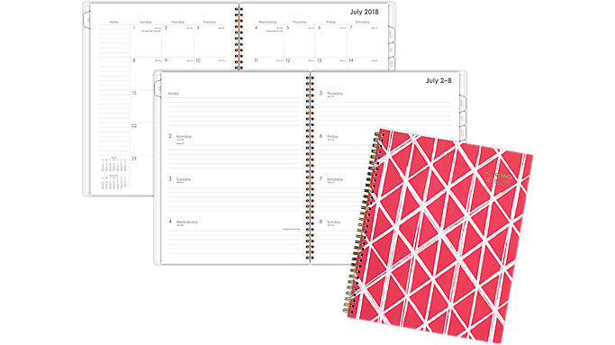 AT-A-GLANCE Sloane Academic Weekly-Monthly Planner  (1114D-905A)