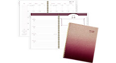 Brown Glitter Academic Weekly-Monthly Planner (Item # 1122-905A)
