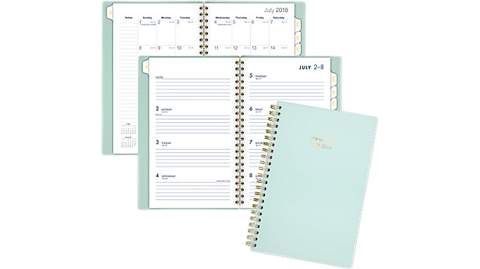 AT-A-GLANCE Color Bar Academic Weekly-Monthly Planner  (1123-200A)