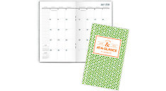 Badge Academic 2-Year Monthly Pocket Planner (Item # 1124G-021A)