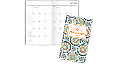 BADGE Academic 2-Year Monthly Pocket Planner (Item # 1124T-021A)