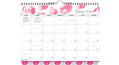 Pink Ribbon Tabbed Wall Calendar (Item # 11259)