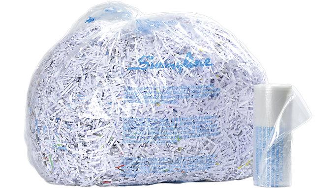Swingline 35-60 Gallon Plastic Shredder Bags for TAA Compliant Shredders  (1145482)