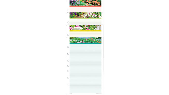 Day-Timer Garden Path Note Pads Desk Size  (13488)