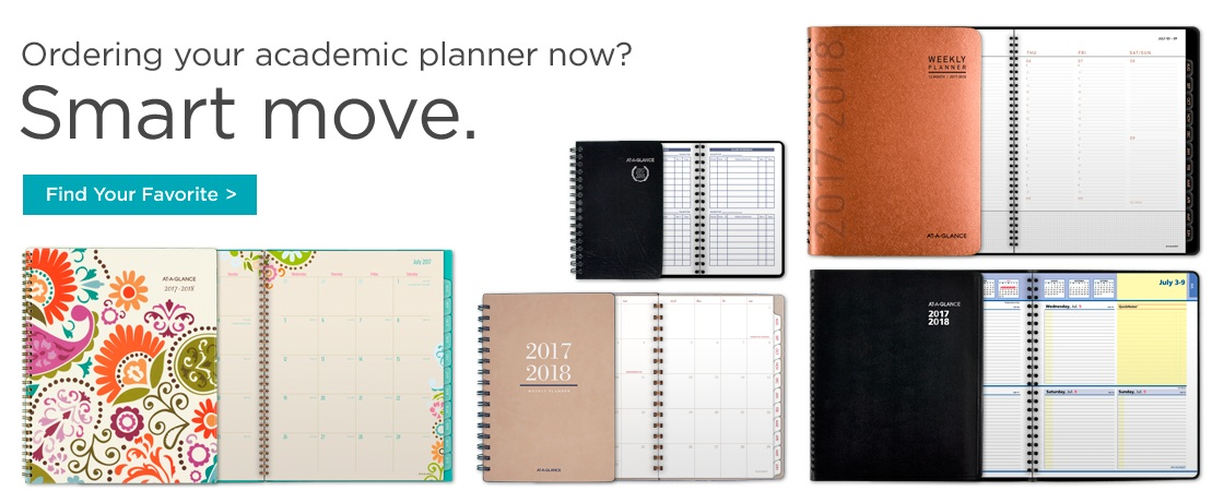 Order Your Academic Planner Today!