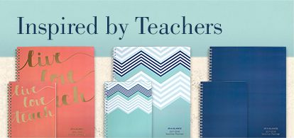 Planners Inspired By Teachers