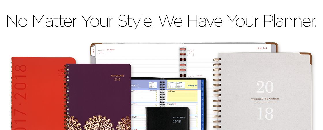 No Matter Your Style, We Have Your Planner.
