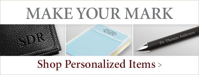 Shop Personalization Items