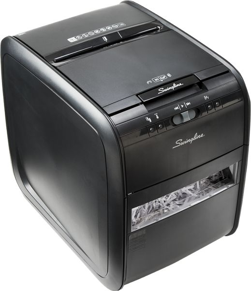 Swingline Stack-and-Shred 80X Hands Free Shredder - Commercial & Heavy Duty Shredders