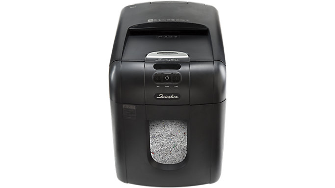 Swingline Stack-and-Shred 100M Auto Feed Shredder  (1758571CL)