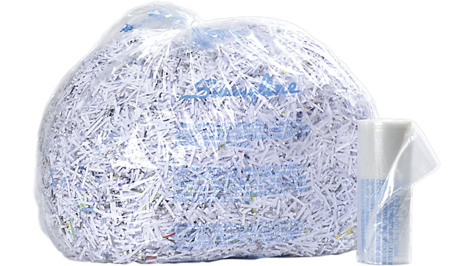 Swingline 6 8 Gallon Plastic Shredder Bags 1765016