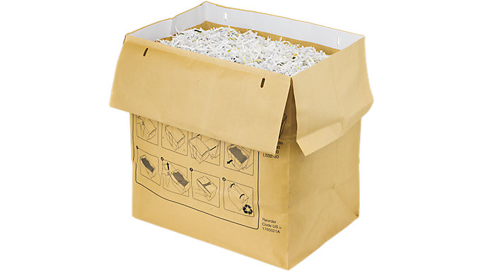 Swingline 30 Gallon Recyclable Paper Shredder Bags