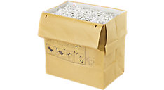 19 Gallon Recyclable Paper Shredder Bags (Item # 1765025)