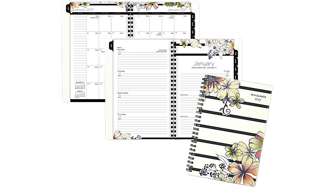 AT-A-GLANCE Monique Weekly-Monthly Planner  (178-200)