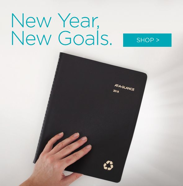 New Year. New Goals. Shop Planners!