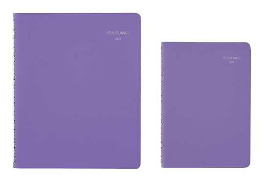 AT-A-GLANCE Beautiful Day Purple Planner