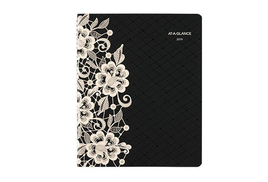 AT-A-GLANCE Lace Detailed Planner