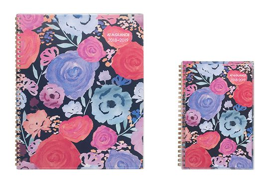 AT-A-GLANCE Bold Flowers Planner