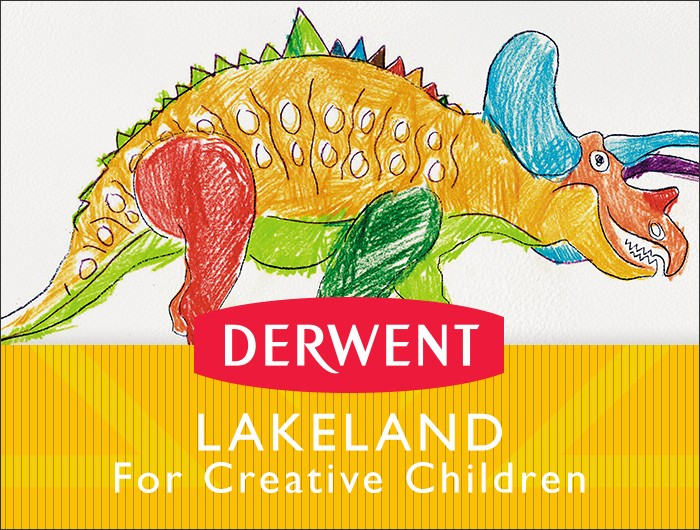 Click here to browse Derwent Lakeland products best suited for creative children
