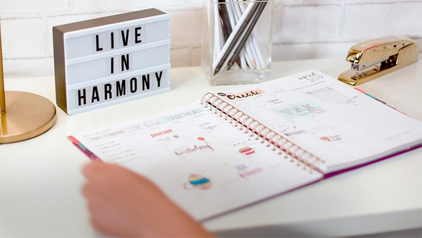 Fashionable Harmony Collection Planner