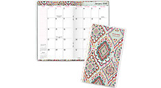 Marrakesh 2-Year Monthly Pocket Planner (Item # 182-021)