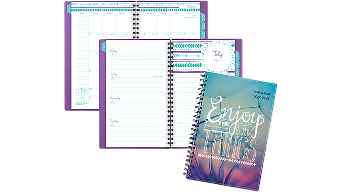 AT-A-GLANCE Insta-Note Academic Weekly-Monthly Planner  (183-200A)