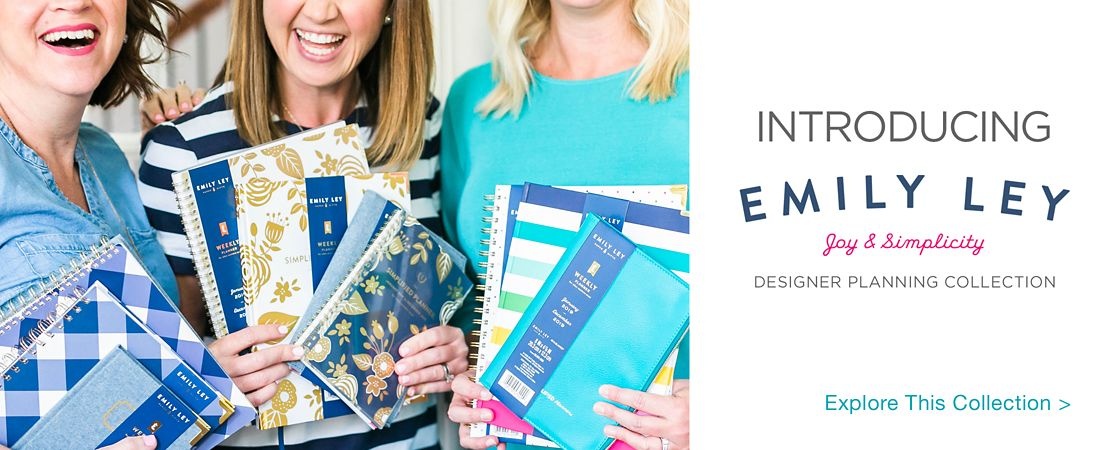 Introducing Emily Ley Joy & Simplicity Seigner planning collection