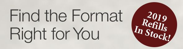 Find the Format That is Right for You