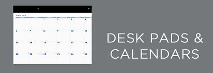 Desk Calendars & Desk Pads