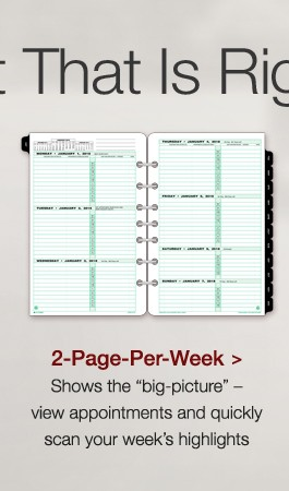 2PPW Planner Refill