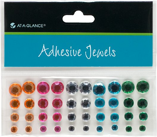 At-A-Glance Adhesive Jewels-Rhinestone Gems - Planner Accessories