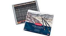 Charcoal 24 Tinted Pencils Tin (Item # 2301691)