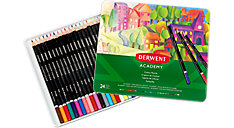 Academy Deluxe 24 Colour Pencils Tin (Item # 2301938)