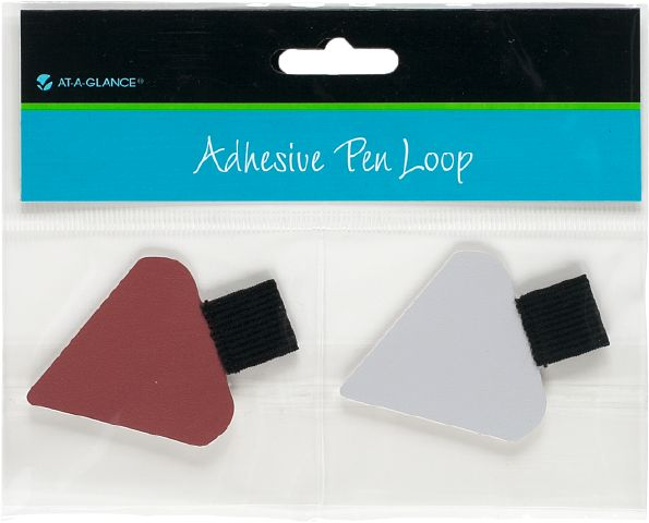 At-A-Glance Adhesive Pen Loop-Triangular - Planner Accessories