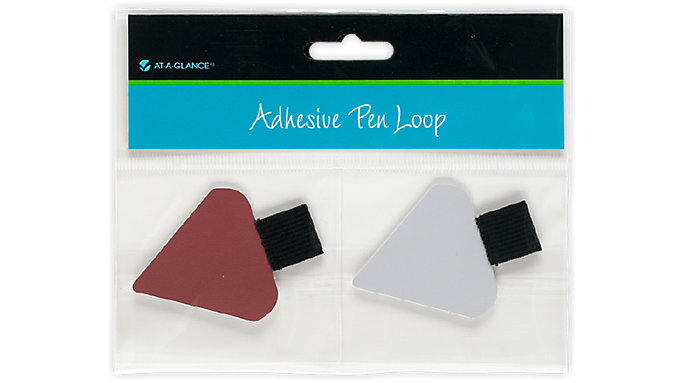 AT-A-GLANCE Adhesive Pen Loop-Triangular  (238-01)