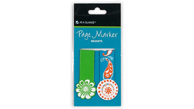 AT-A-GLANCE Page Marker Magnets Set of 2  (242-01)
